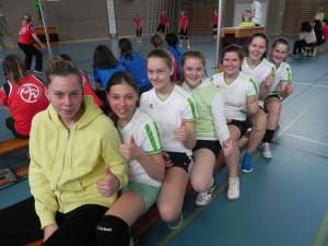 Aufstieg Netzball Girls
