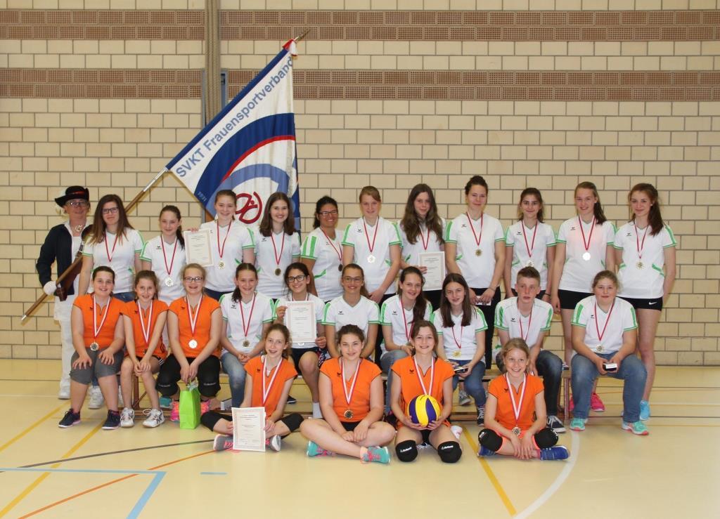 1. SVKT Netzball Verbandsmeisterschaft Jugend: Walchwil dominiert!