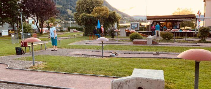 Minigolf spielen in Arth am See – ein mega cooler Anlass (24.08.2020)
